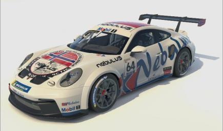 Porsche 992 Cup Nebulus Racing Leon Köhler