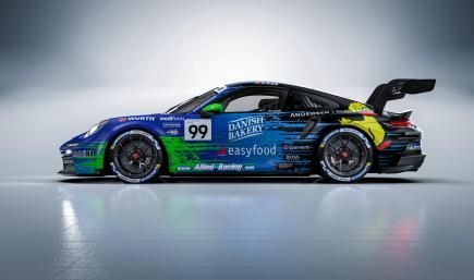 Bastian Buus   Allied-Racing   Porsche Carrera Cup Deutschland