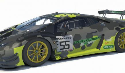 Lamborghini Paradigm Shift Racing