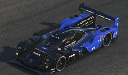 2021 Konica Minolta Wayne Taylor Racing Acura DPi IMSA