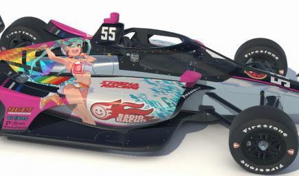 Itasha Racing / Radio Bacho Dallara IR18