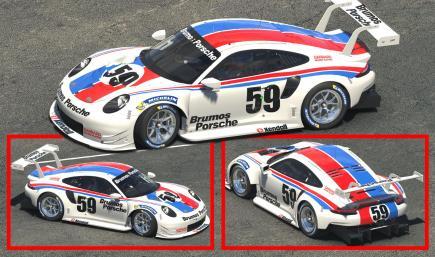 Porsche 911 RSR Brumos