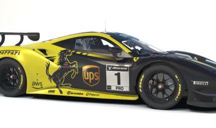UPS Ferrari Prancing Horse 488 GT3 Evo 2020