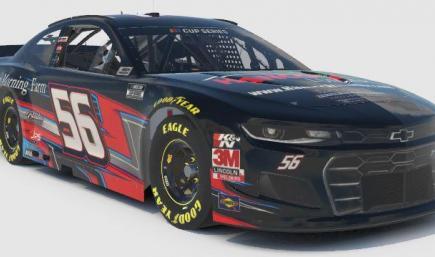 Evan Beaulieu - SLM Cup Car - Number Stamp