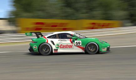 Castrol Porsche Cup 992