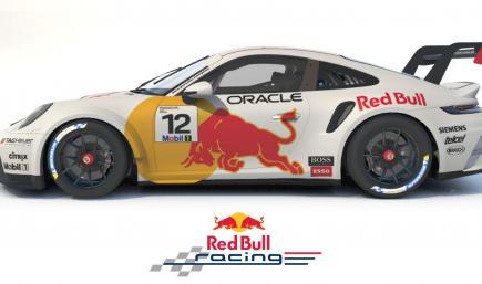RedBull Porsche 911 GT3 Cup