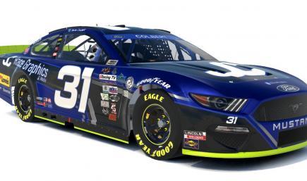 Jonah Colbert JC Race Graphics #31 Mustang Playoff Edition