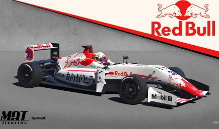 RedBull Racing Honda Tribute Livery concept