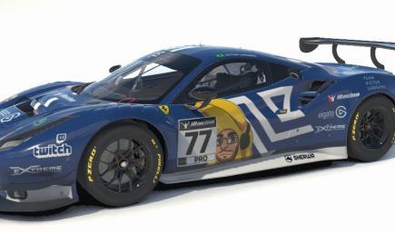 Ferrari 488 GT3 EVO - Victor Ludgero Skin