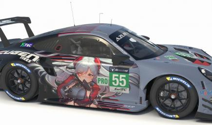 Eugen Tires (Prinz Eugen) Porsche 911 RSR GTE