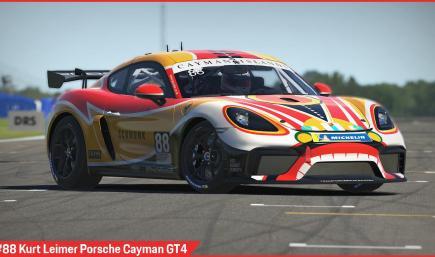 #88 Kurt Leimer Porsche Cayman GT4