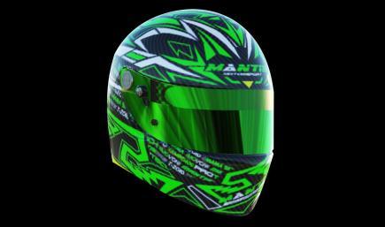 Helmet GREEN CARBON