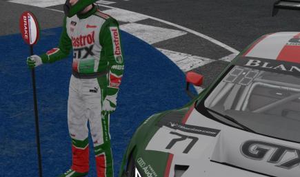 Castrol GTX Drivers Suit