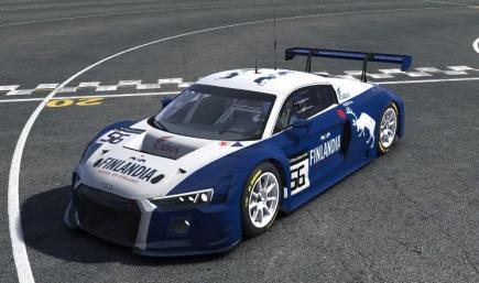 Finlandia Vodka Audi R8