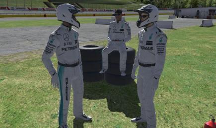 2016 Lewis Hamilton Mercedes AMG Petronas