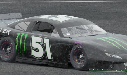 Kyle Busch Monster Energy Drink Super Late Model