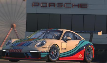 Porsche 911 Cup Martini Racing