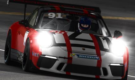 Porsche 911 Cup Porsche Racing Salzburg 2015