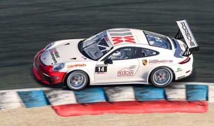 Elliott Skeer 2015 Porsche Carrera Cup USA