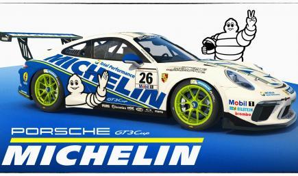 Michelin Porsche 911 GT3 Cup