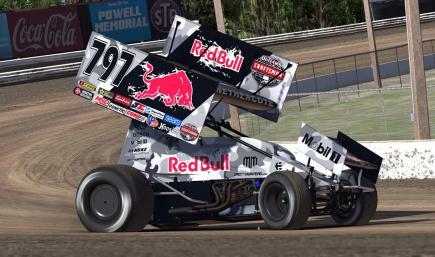Mad Mike Red Bull Sprint Car - Madbul